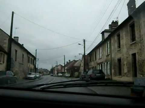 Driving North Of Paris, France (Oise)