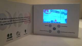 5inch LCD Video Brochure by The Recom Group