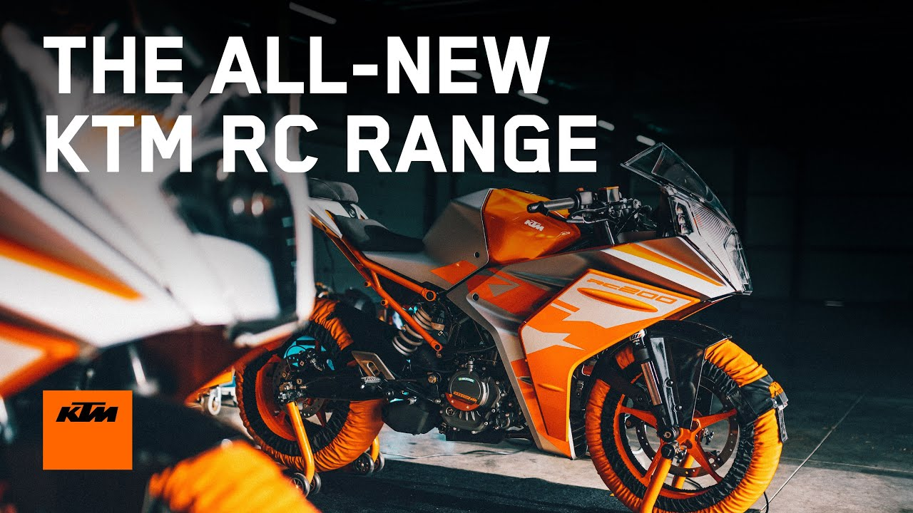 The All-NEW KTM RC RANGE - Bred on the Racetrack | KTM India