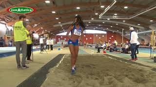 Larissa Iapichino, record lungo allieve a 6.36 - Padova, multiple 2018