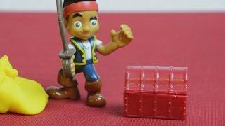 Jake and the Neverland Pirates Puzzle Adventure - Disney Junior - Kinder Playtime