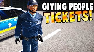 POLICE CHASES AND TICKETS! - Autobahn Police Simulator 2 Gameplay - COPS AND ROBBERS GAME