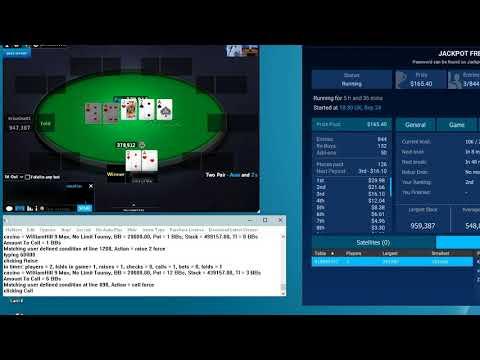 Финал -Покер Бот- ( Фри тур ) 25-09-17