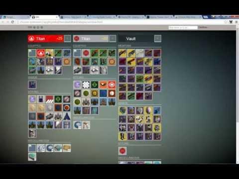Destiny - Screw the App! Use DIM to manage items