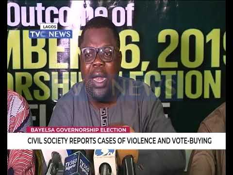 Civil Society Reports Cases Of Violence And Vote Buying In Bayelsa Guber Election