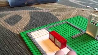 How to build a Lego house part 1 bathroom