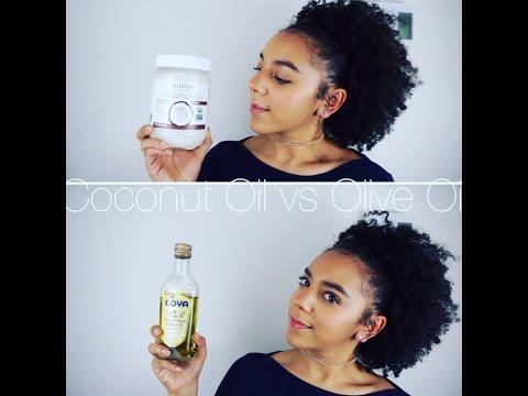 Coconut Oil vs Olive Oil | Demo + Benefits + Which I prefer -KBeautyShine