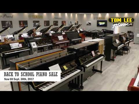 Tom Lee Music Back To School Piano Sale 2017