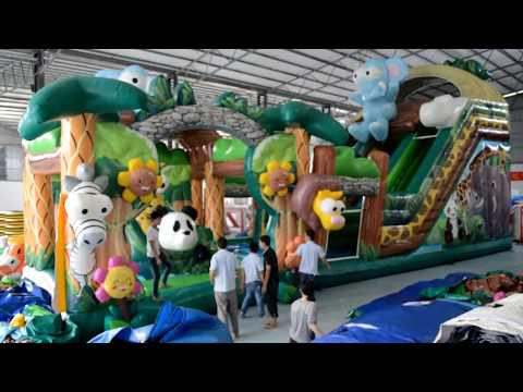 Guangzhou SIBO inflatable new design- forest park