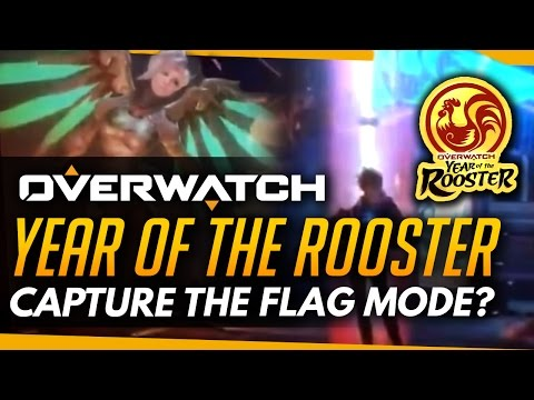 Overwatch | Capture The Flag Gamemode? - Chinese Year of the Rooster Trailer Released