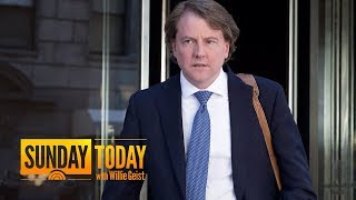 White House Counsel Don McGahn Cooperated With Mueller Probe, Report Says Sunday TODAY