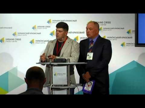 (English) Volunteers of medical service. Ukraine crisis media center, 3rd of July 2014