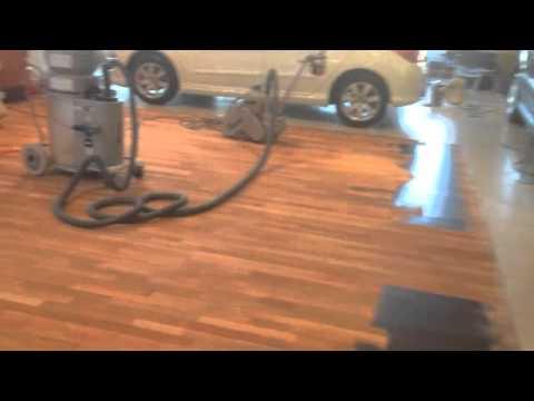 Booths Of Ditton Car Showroom Junckers Wood Floor Restoration By