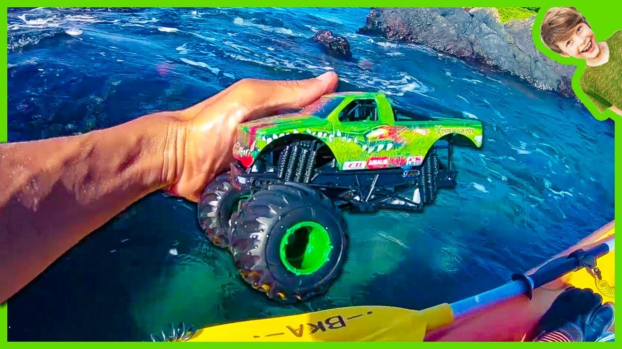 Monster Trucks Lost And Found At Sea Flashback Youtube