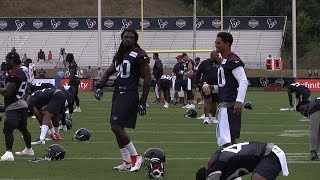 Day Two of Houston Texans Training Camp
