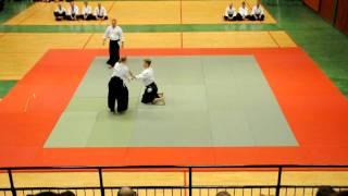 Aikido - Sverigeläger 2010 uppvisning, Anna Wilder-Hjerppe 3:e Dan
