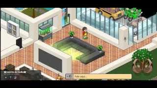 Habbo: Como Fazer uma Casa Simples Usando :Floor
