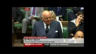Sir Peter Tapsell (Classic!) - The Almighty Subject