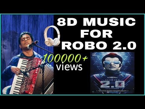 TELUGU 8D MUSIC || FULLY 8D TECHNOLOGY||  BY AR. REHAMAN .|| Robo 2.0