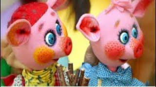 Кукольный театр. Ляльковий театр. Интересная сказка для детей. Развивающие игры