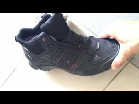 Обзор ботинок Adidas Terrex Softshell Mid - YouTube