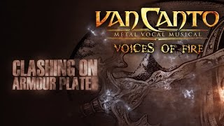 "Van Canto - Metal Vocal Musical ""CLASHINGS ON ARMOUR PLATES"" Official Lyric Video"