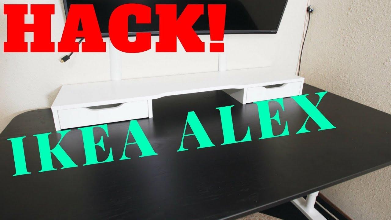 Awesome Ikea Hack Alex Desktop