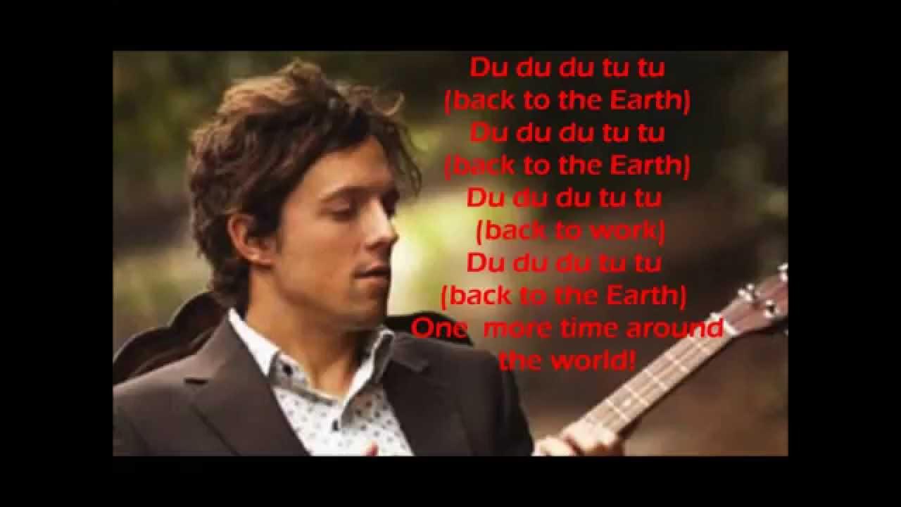 Jason Mraz Back To The Earth Lyrics