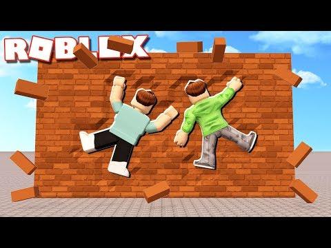 Roblox Adventures - CRASH INTO A WALL & BREAK BONES in ROBLOX! (Broken Bones 3)
