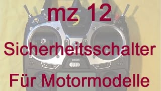 Modellflug Jugend Pampersflieger mz 12 Sicherheitsschalter, MFC Rheinbach