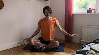 Vajrasati Yoga short seated practice