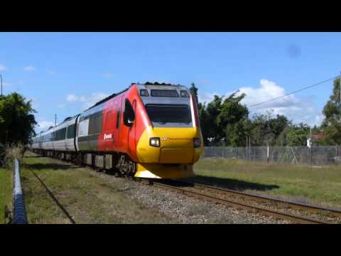 Australia: Townsville Passenger Trains, 21Jun14
