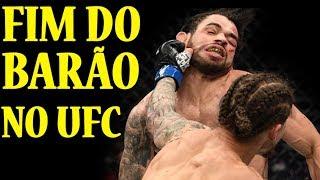 RENAN BARÃO tem derrota melancolica para LUKE SANDERS Resultado da luta   UFC NGANNOU X VELASQUEZ