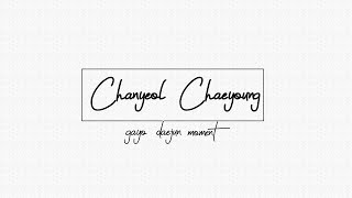 SBS2017 I EXO CHANYEOL [X] BLACKPINK ROSE MOMENT