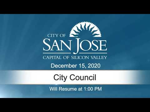 DEC 15, 2020 | City Council, Afternoon Session