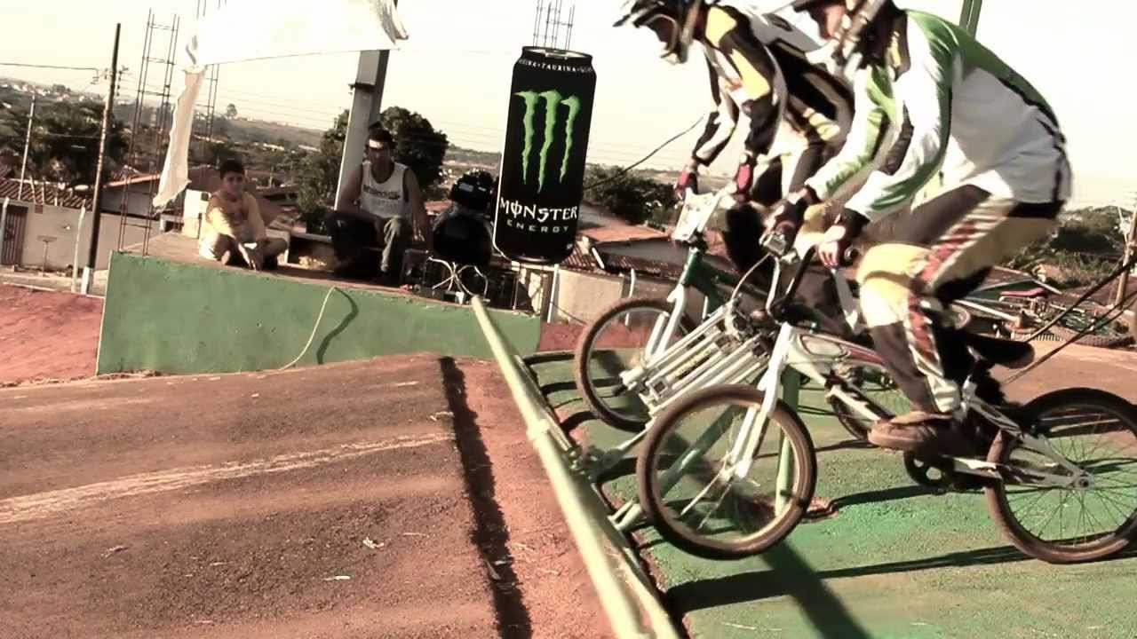 Easy Ride on a True BMX Track - YouTube