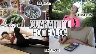 Baixar MY FIRST RUN BACK & ANOTHER LOCKDOWN BIRTHDAY | QUARANTINE FAMILY LIFE