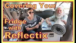 Covering Your Refrigerator/Cooler with  Reflectix