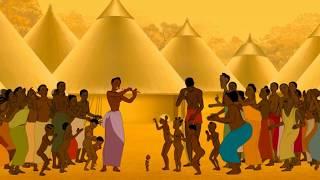 music émouvante de kirikou, sa mère et karaba