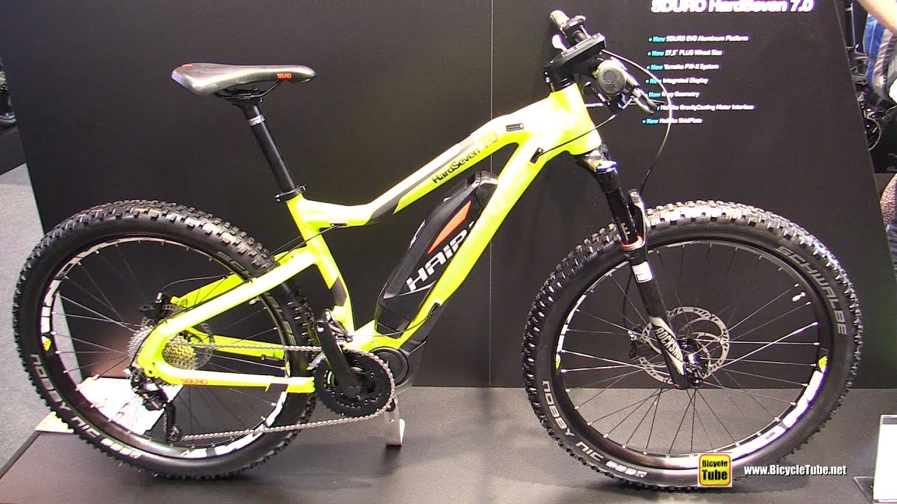 e72cd7348849e7 2017 Haibike sDuro HardSeven 7.0 Mountain Bike - Walkaround - 2016 Eurobike  - YouTube