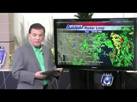 Coastal Bend Weather, Sept 11, Noon