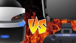 PlayStation VR gegen Rift und Vive - Schlägt die Konsole hier den PC?