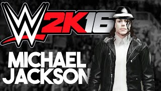 WWE 2K16 My Career Mode :: Creating Michael Jackson!