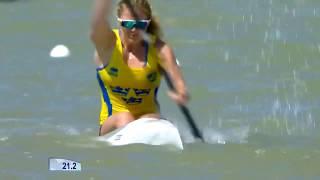 2017 ICF World Cup 2 in Szeged, Hungary, Woman's K-1 200m Semi-Final 3. HD