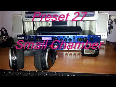 Lexicon MX 400 / 400XL  -  Stereo Presets  (00 - 33)