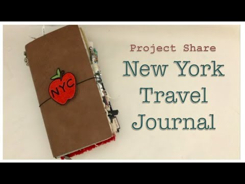 New York City Junk Journal - Completed Flip Through