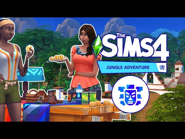 The Sims 4 Jungle Adventure Gameplay Trailer Explore Selvadorada || Dzsungel kaland kiegészítő TS4