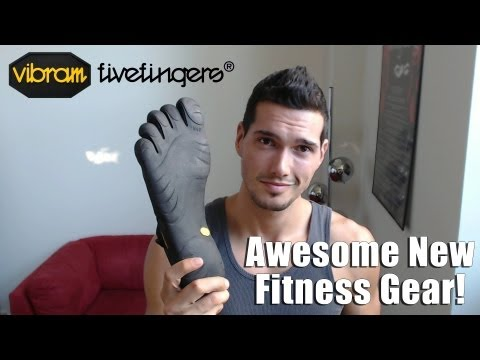 Vibram FiveFingers Training Shoes, Dead Lifts and more - New Fitness Gear