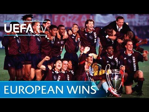 Ajax - All Their European Final Win Goals