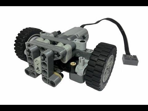 Lego return to center steering V.2